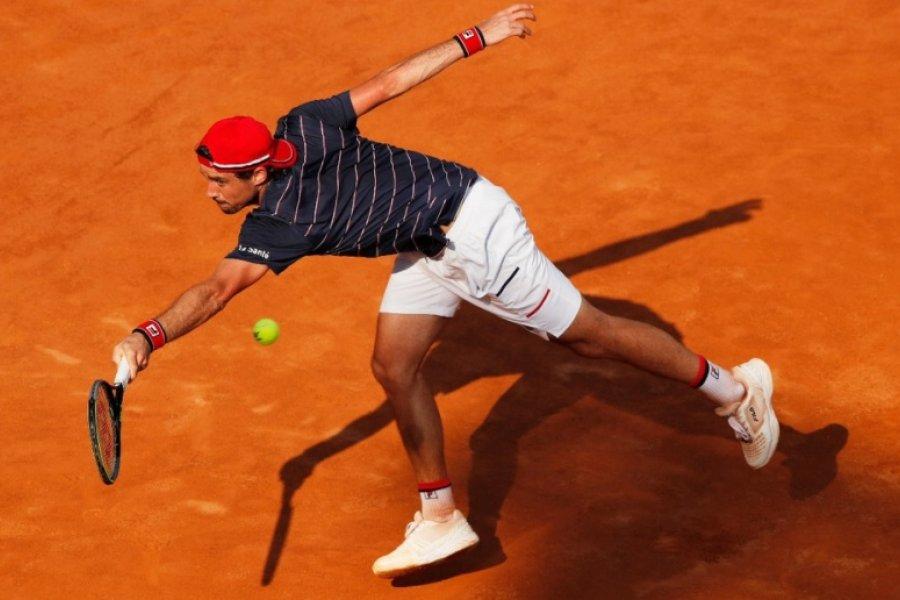 Pella sigue en baja y fue eliminado del Masters de Roma