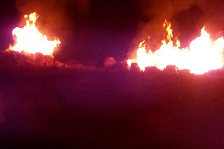 Santarroseños indignados por las quemas indiscriminadas en aserraderos