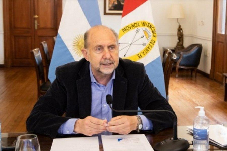 Perotti se reunió con gobernadores por el acuerdo de la Hidrovía