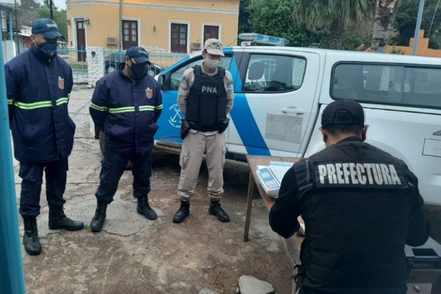 Itatí: Secuestran marihuana a presunto cadete de Prefectura