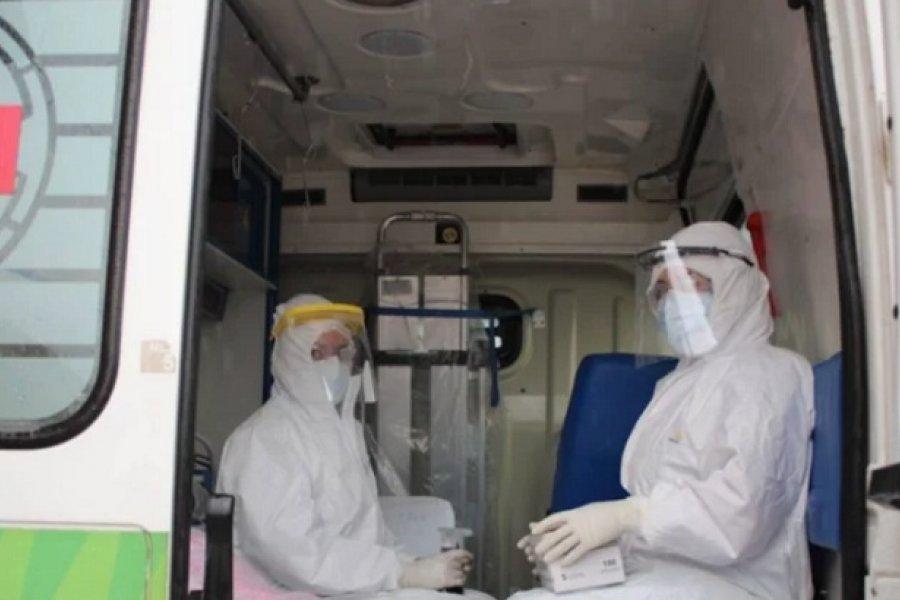 Trasladaron a dos pacientes de Paso de la Patria al Hospital de Campaña