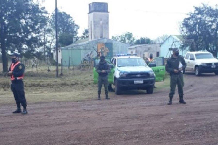 Empedrado: Policías continúan los intensos controles