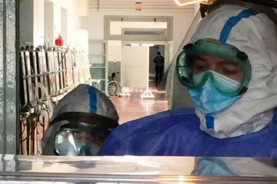 Hospital de Campaña: Dieron el alta a la mamá de Isabella