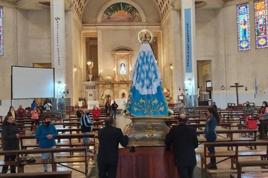 Itatí: Se realizó la fiesta mensual de la Virgen