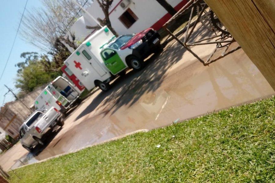 San Roque: Trasladaron a los abuelos del Hogar de Ancianos al Hospital de Campaña