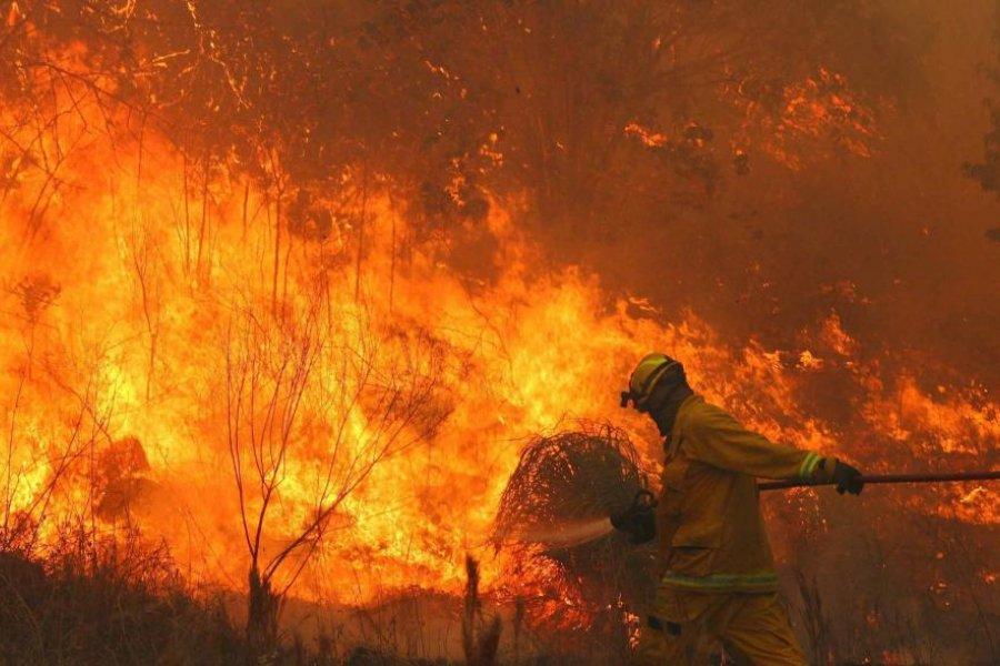El Gobierno nacional asiste a las provincias afectadas por los incendios