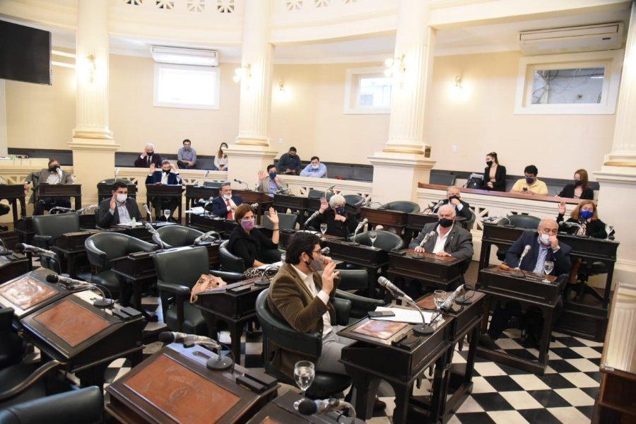 Humedales y Registro único de Violencia de género en el temario de Senadores