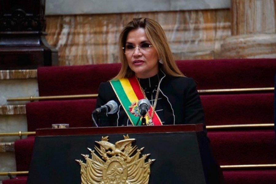 Jeanine Áñez se retira de la carrera electoral