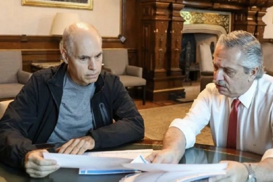 Coparticipación: Alberto Fernández se reunió con Rodríguez Larreta y aseguró que nunca eludiremos el diálogo