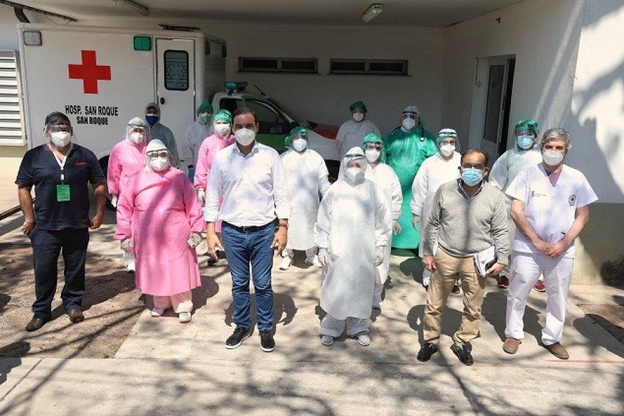 Pandemia: Valdés constata en el terreno la situación sanitaria del interior provincial