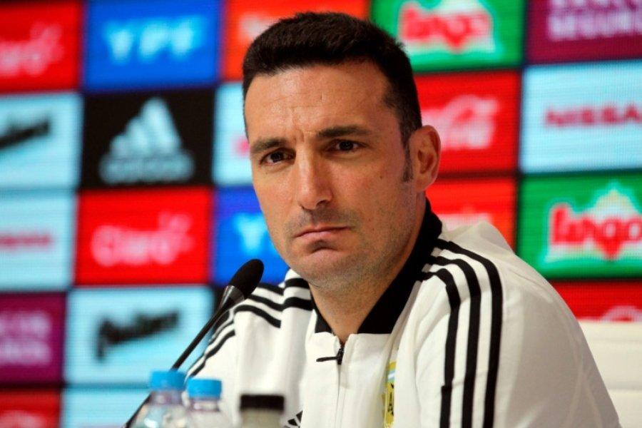 Scaloni dio la lista de convocados para la Selección Argentina