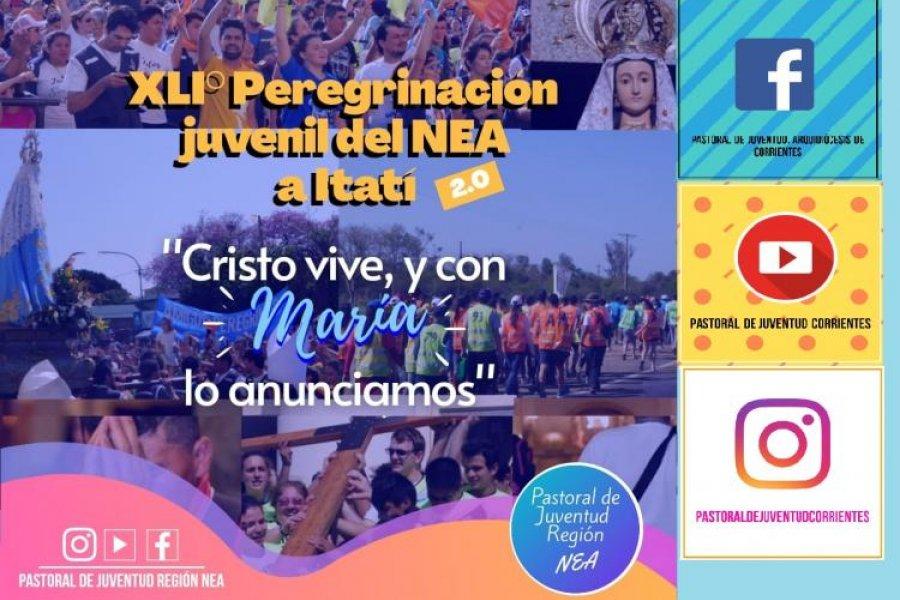 La peregrinación a pie a Itatí se realizará de modo virtual