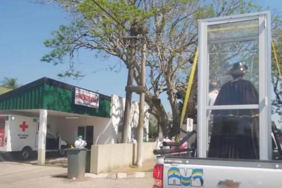 Plegaria en San Roque: El Ejército inicia reparto de alimentos