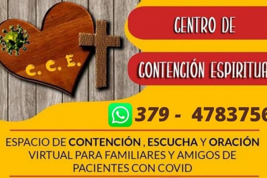 El Arzobispado de Corrientes creó un centro de contención espiritual ante el COVID-19