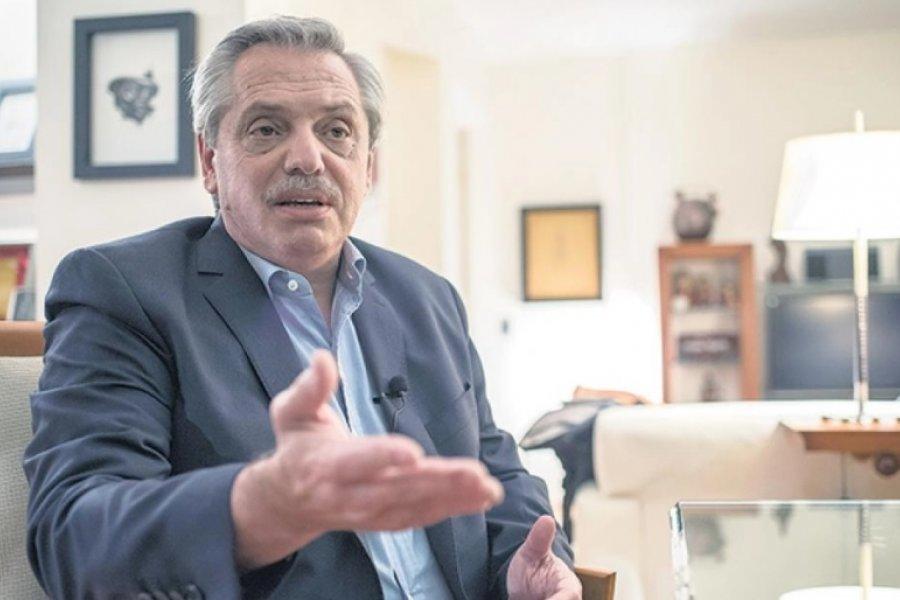 """Alberto Fernández: """"Ahora parece que nadie es macrista, pido un poco de prudencia"""""""