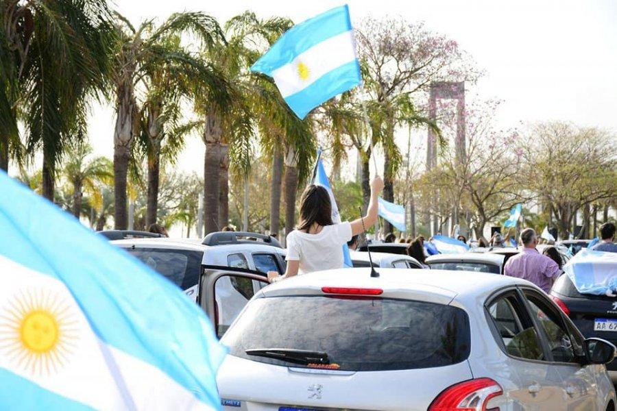 En pleno brote de casos de Coronavirus, Corrientes se sumó a las marchas contra el Gobierno