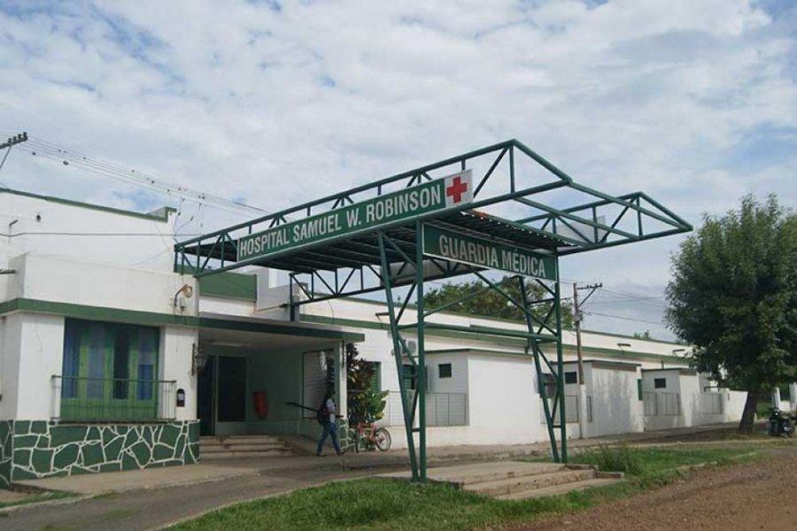 Trasladaron a un paciente desde Monte Caseros al Hospital de Campaña