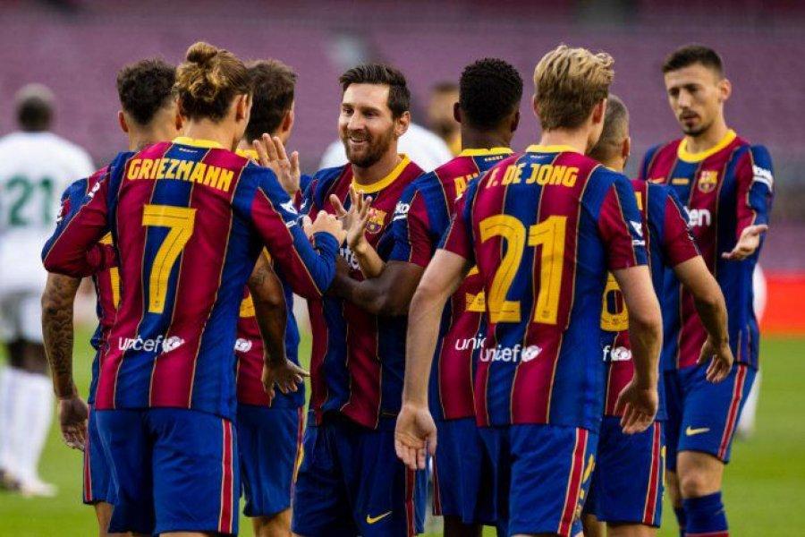 Con Messi de titular, Barcelona ganó el trofeo Joan Gamper