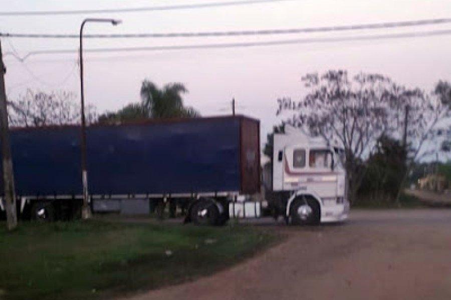 Una joven murió atropellada por un camión en Paso de los Libres