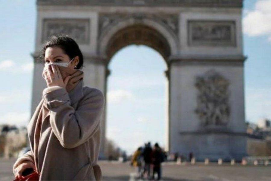 Francia confirmó un nuevo récord diario con 13.498 nuevos casos