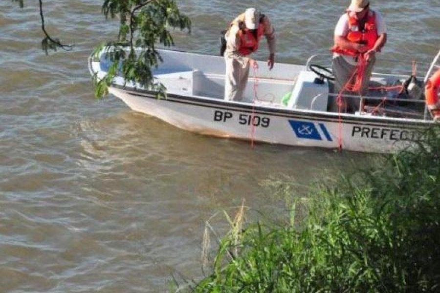 Prefectura busca a tres personas que desaparecieron en el río Paraná