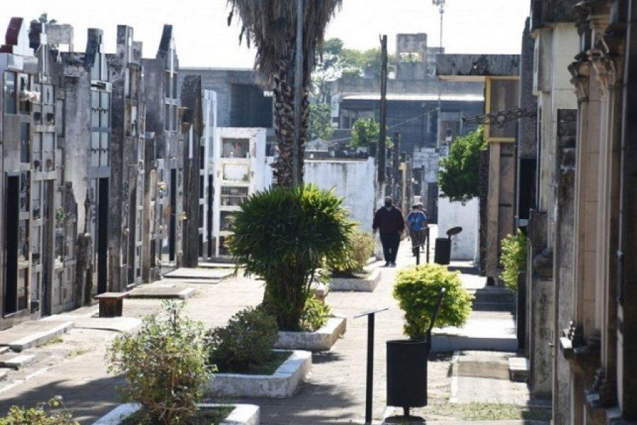 Detectaron un caso positivo de Coronavirus en un personal del Cementerio San Juan Bautista