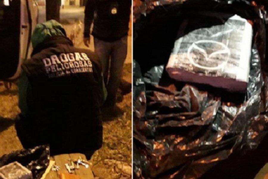 Corrientes: La Policía secuestró cocaína de máxima pureza