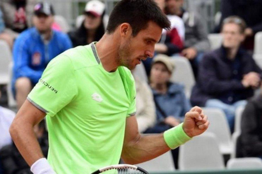 El correntino Leo Mayer quiere ingresar al cuadro de Roland Garros