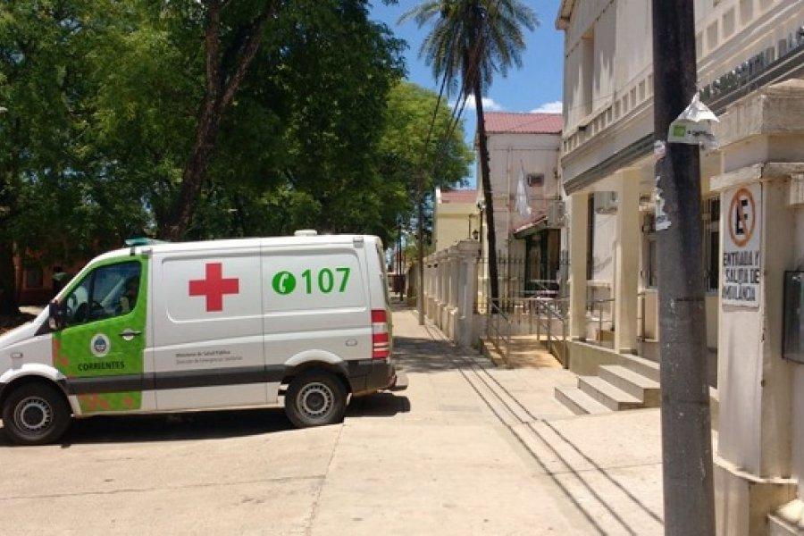 Mercedes: Agredieron brutalmente a una paramédica del servicio 107