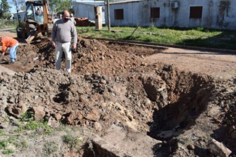 Mercedes: El Intendente recibió la primavera recorriendo las obras públicas