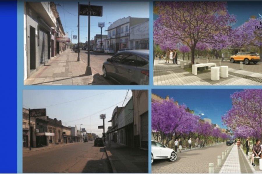 Nación anunció la construcción de una peatonal para Paso de los Libres