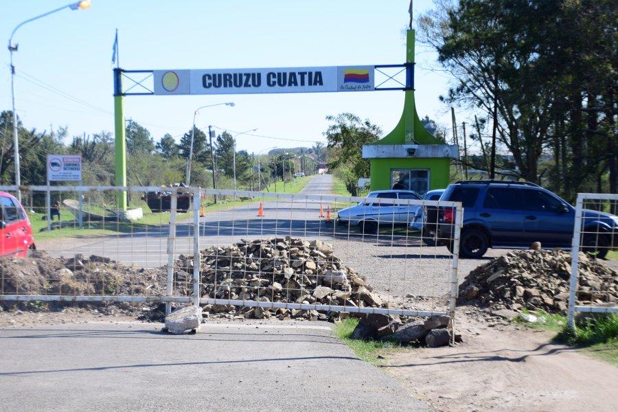 Realizaron la apertura del acceso sur de Curuzú Cuatía
