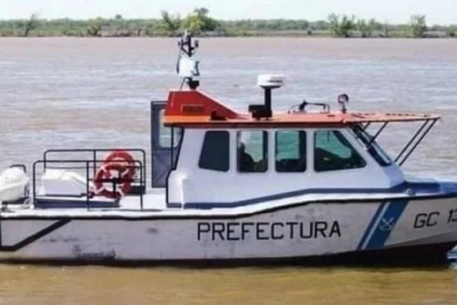 Salió a pescar para pagar la ecografía de su esposa y cayó al río Paraná