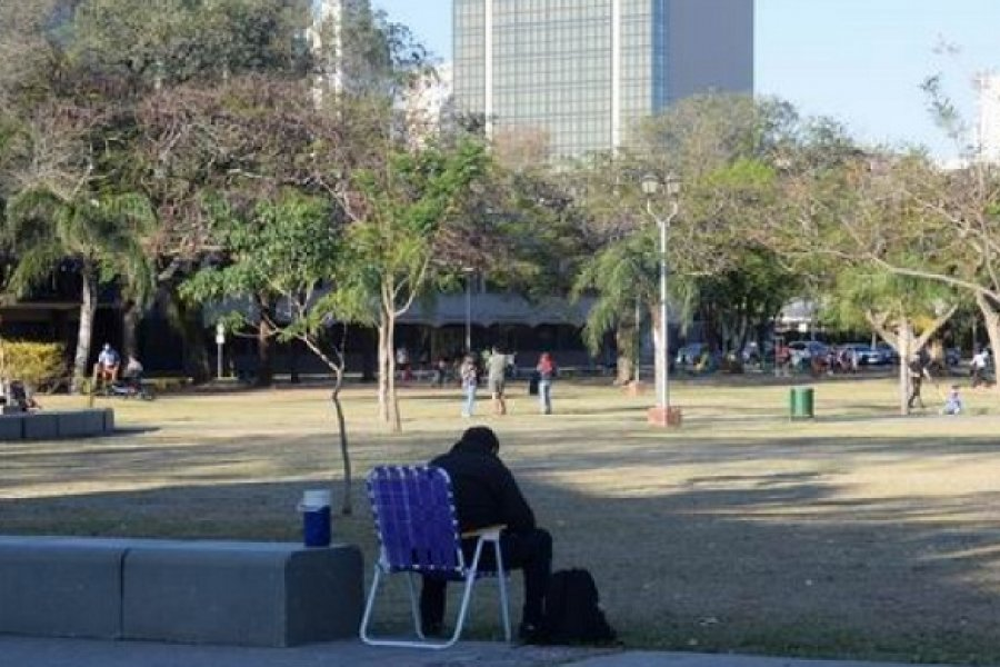 Día de la Primavera: Primó el buen comportamiento en parques y plazas