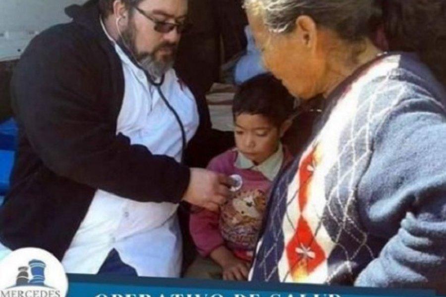 Mercedes: Operativo de salud en la zona rural
