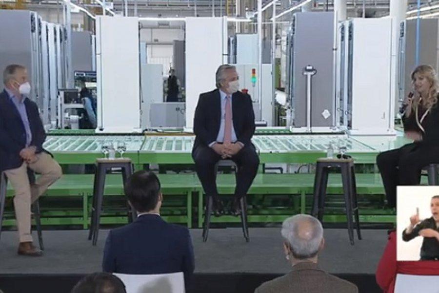 El presidente anunció líneas de financiamiento para empresas y compra de electrodomésticos