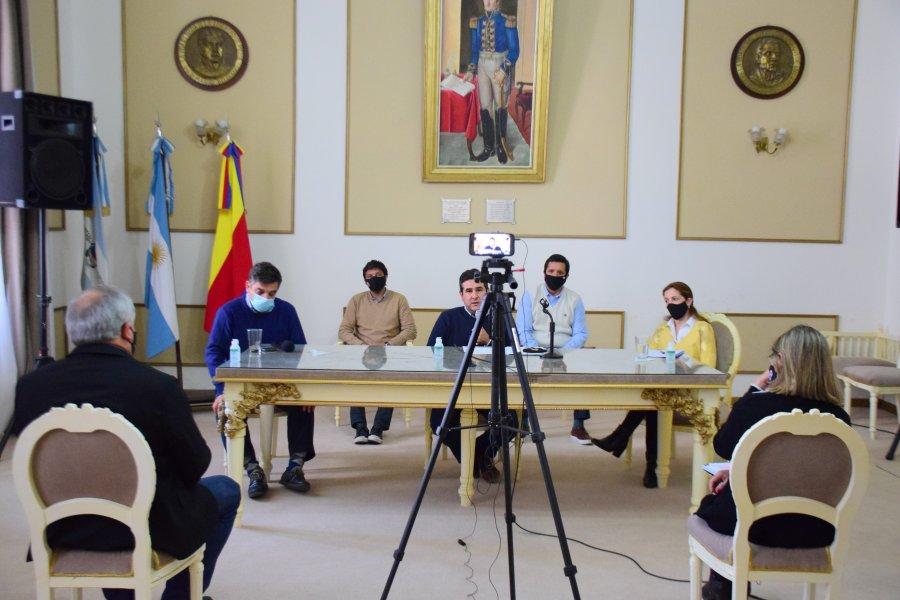 Irigoyen dio detalles sobre las cuentas municipales y anunció descuentos impositivos
