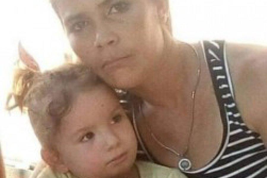 Apareció la mujer que se había fugado con sus dos hijas