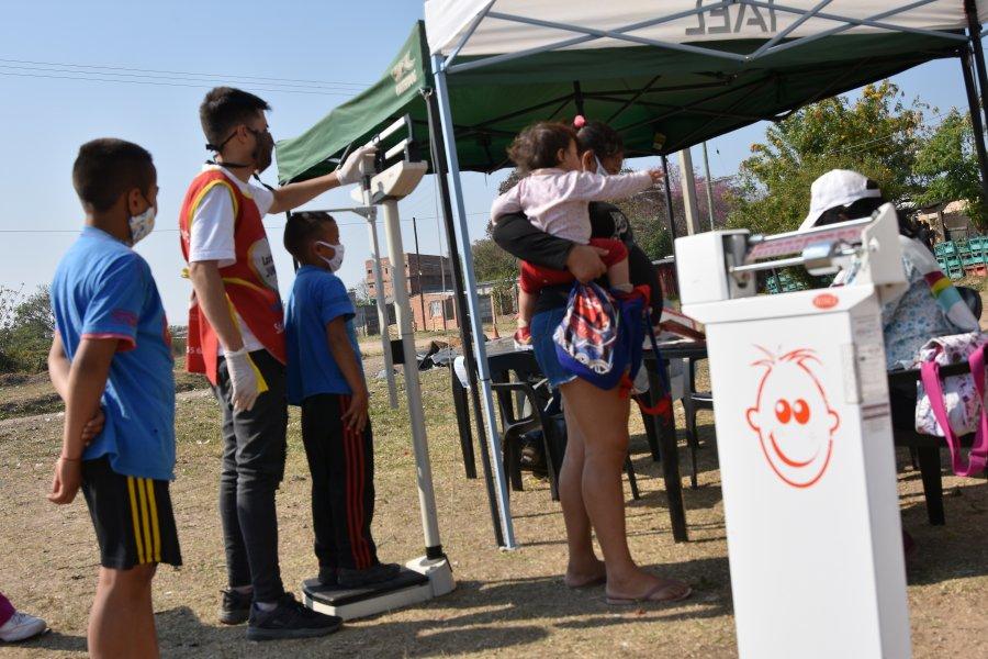 Las delegaciones móviles llegaron a los vecinos del barrio Serantes
