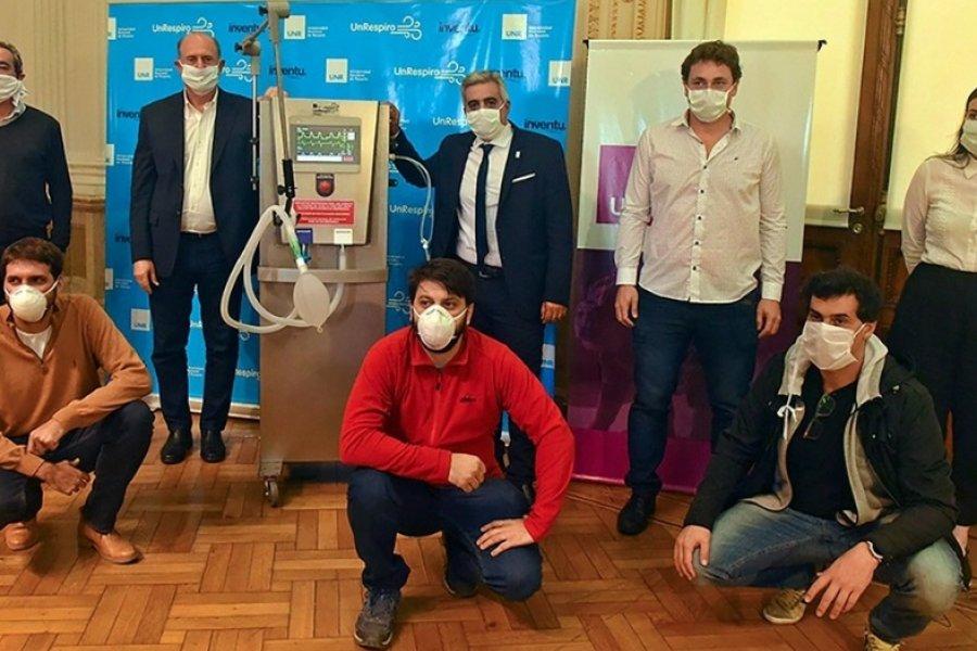 Anmat aprobó los respiradores hechos por la Universidad de Rosario