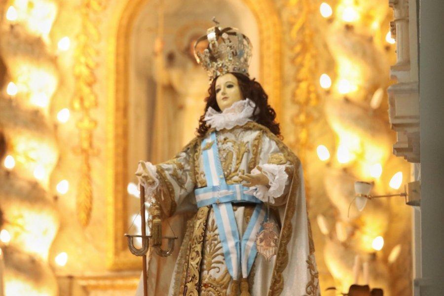 Corrientes se encomendó a la Virgen de la Merced para pedir protección en la Pandemia