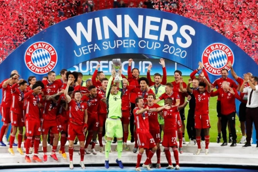 Supercopa de Europa: Bayern Múnich le ganó a Sevilla y es campeón