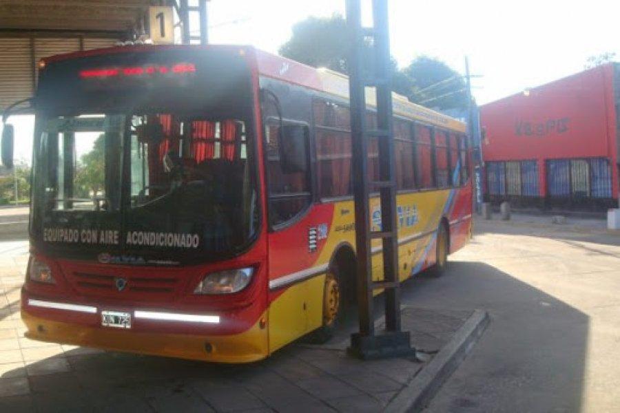 Reanudaron servicio de colectivos de Goya a Santa Lucía y Gobernador Martínez