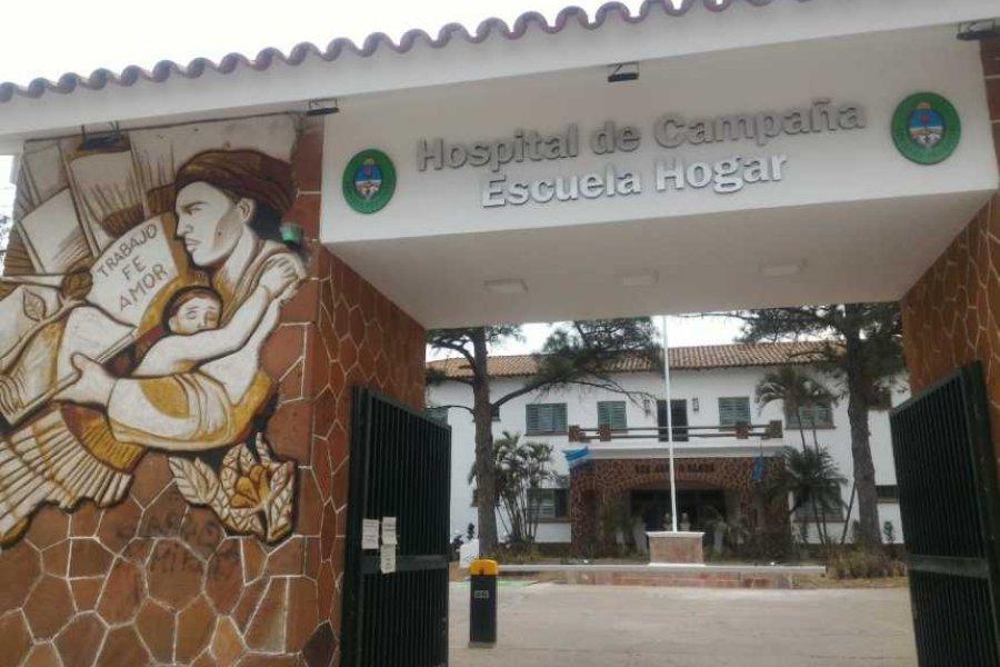 Hospital de Campaña: 14 pacientes están en terapia intensiva