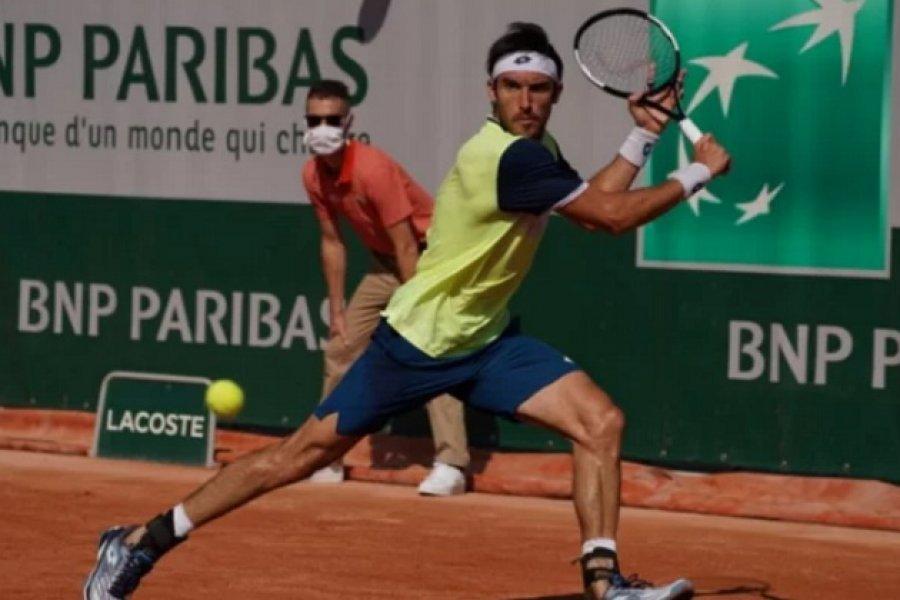 El correntino Leo Mayer quedó eliminado de la clasificación de Roland Garros