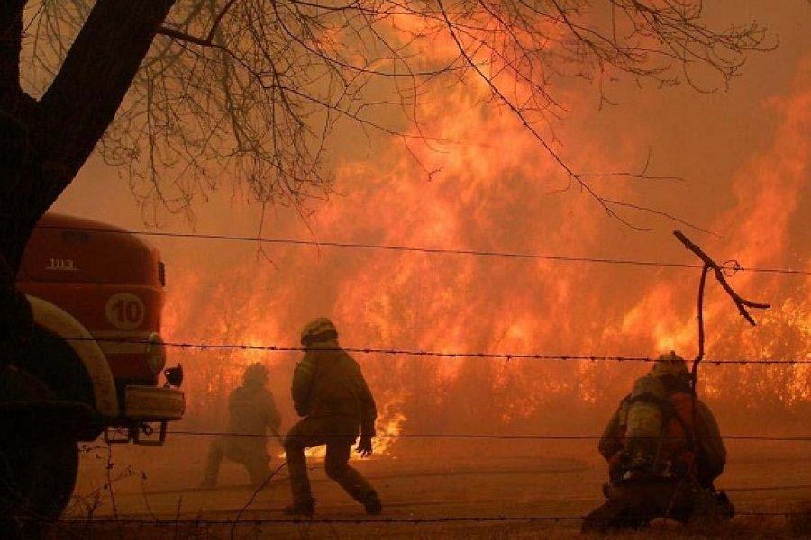 Incendios en Córdoba: Un muerto