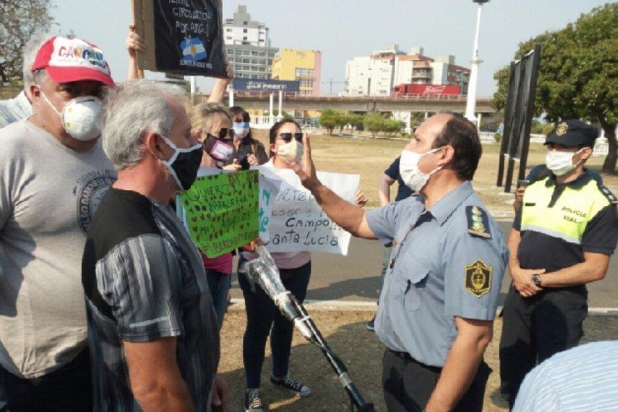 Aumentan los pedidos para liberar el paso en el puente General Belgrano