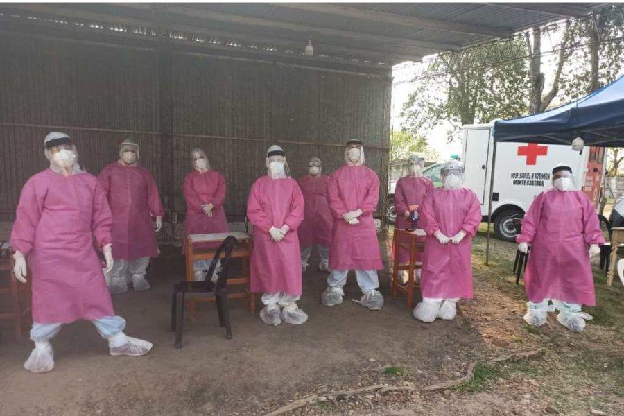 Coronavirus: Realizaron 81 hisopados en Monte Caseros