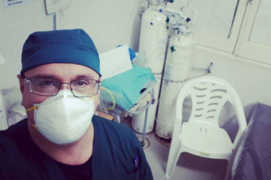 """La angustia de un doctor chaqueño: """"Me mato haciendo guardias extras para aumentar mi sueldo"""""""