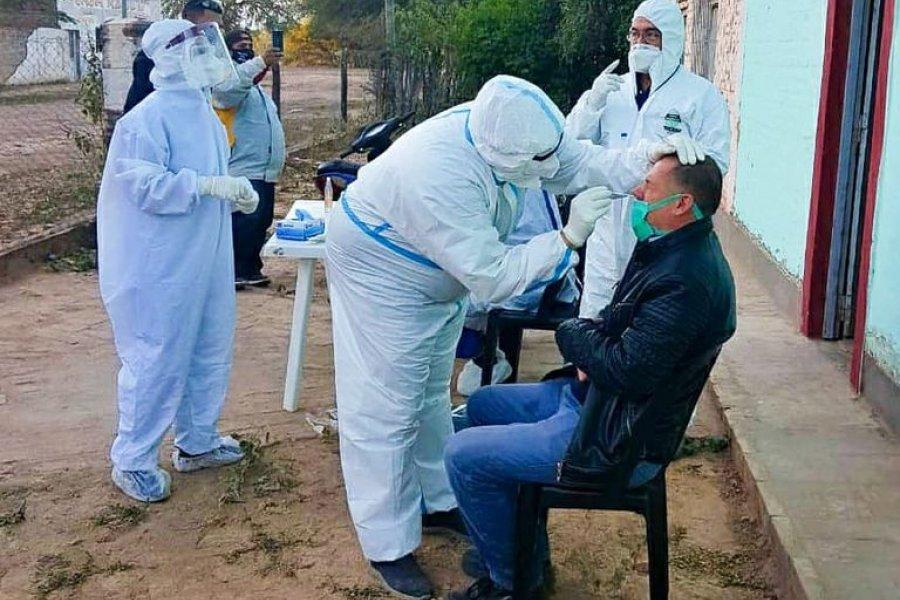 Chaco superó los 8 mil casos con 160 nuevos infectados de Covid-19